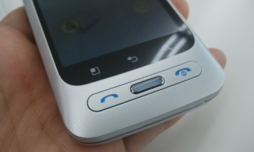 optimus chat l-04c 前面 ボタン類