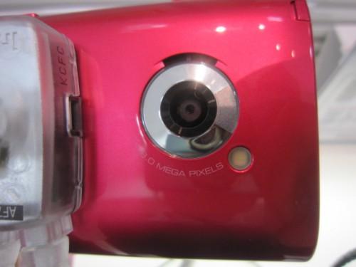 005SH 8メガピクセルカメラ