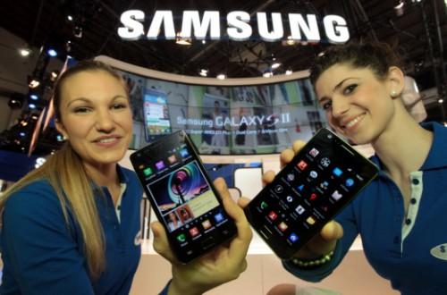 MWC2011 Galaxy S2公開