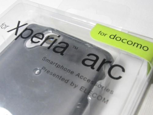 ELECOM docomo Xperia arc用ソフトケース