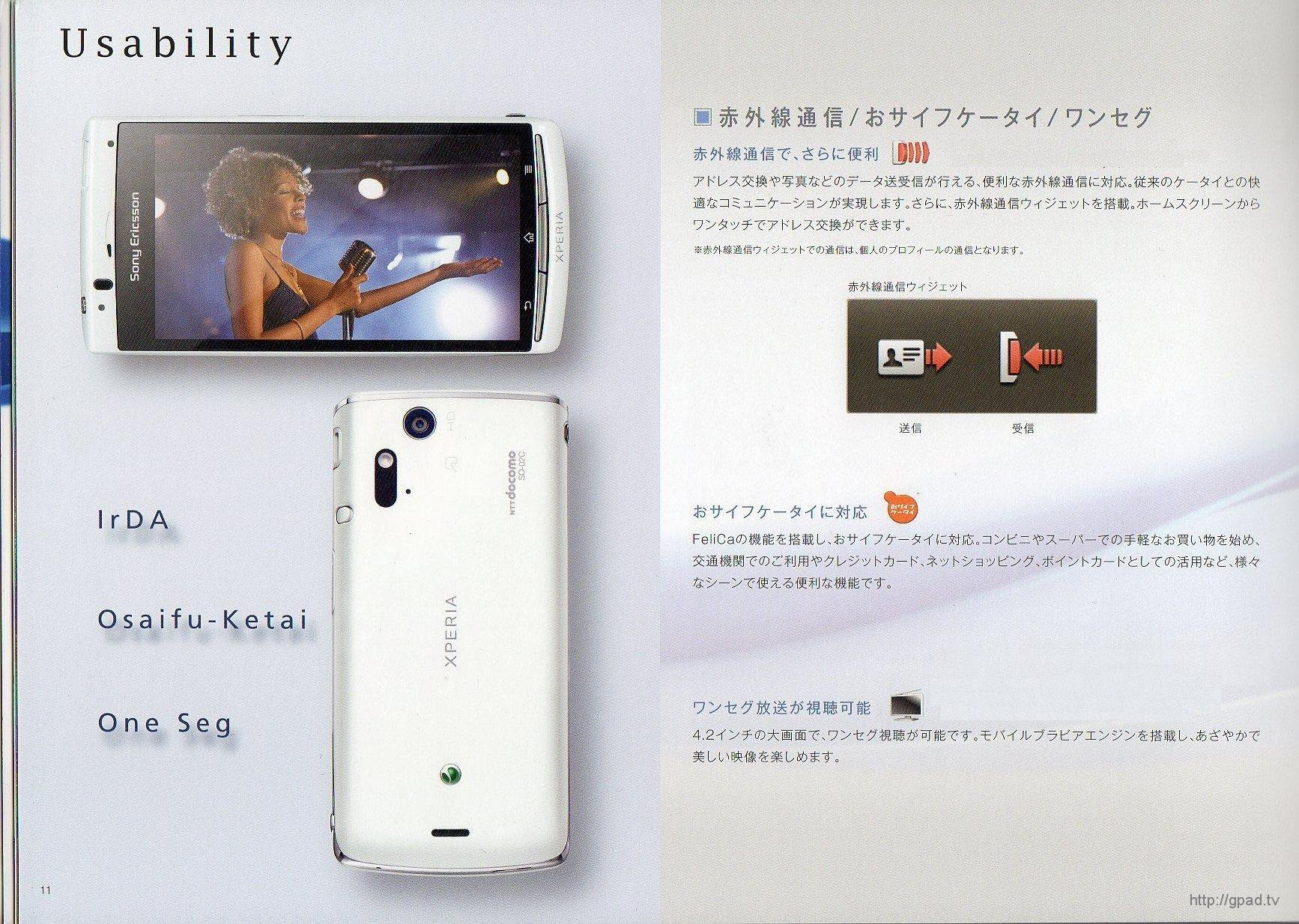 Xperia acro SO-02C Page10