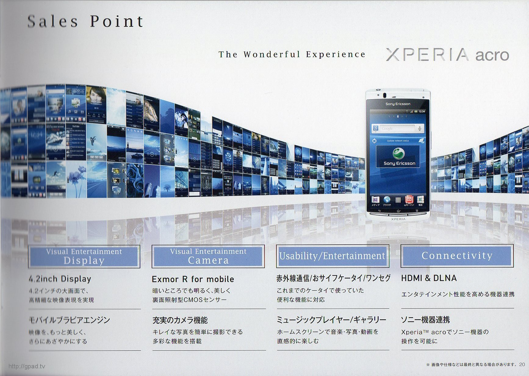 Xperia acro SO-02C Page19
