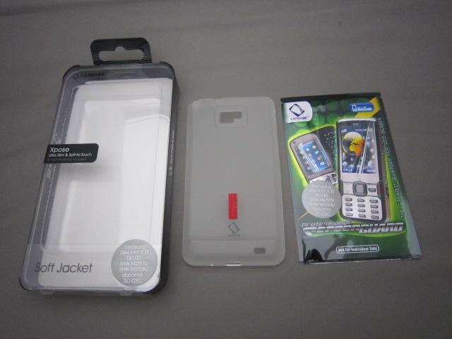 CAPDASE Galaxy S II SC-02C用ケースレビュー
