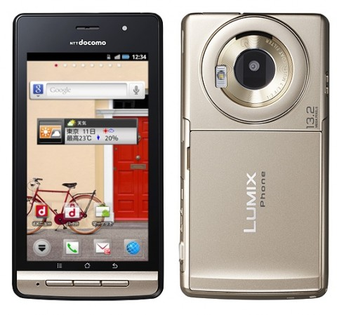 LUMIX Phone P-02D