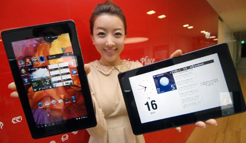 Optimus Pad LTE 韓国で発売