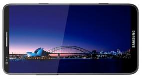 Galaxy S III 4.8インチディスプレイ