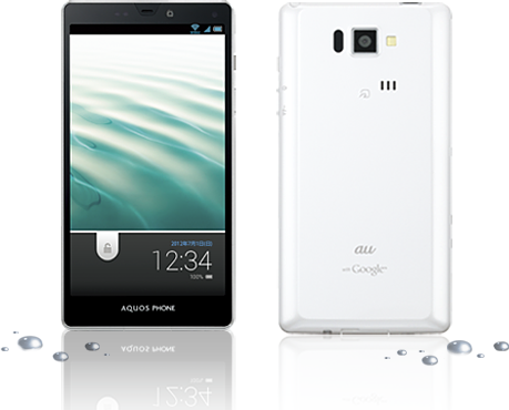 KDDI、FeliCaとNFCを両搭載したスマートフォン「AQUOS PHONE SERIE ISW16SH」を発表、6月下旬以降発売