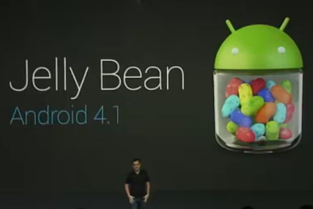 Android4.1 Jelly Bean発表