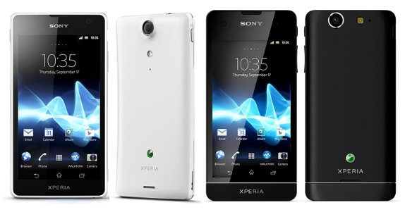 Xperia GX SO-04D、Xperia SX SO-05D