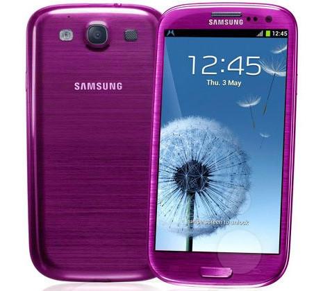 Galaxy S III Pink