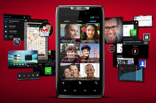 Motorola RAZR IS12M Android4.0 ICSアップデート開始