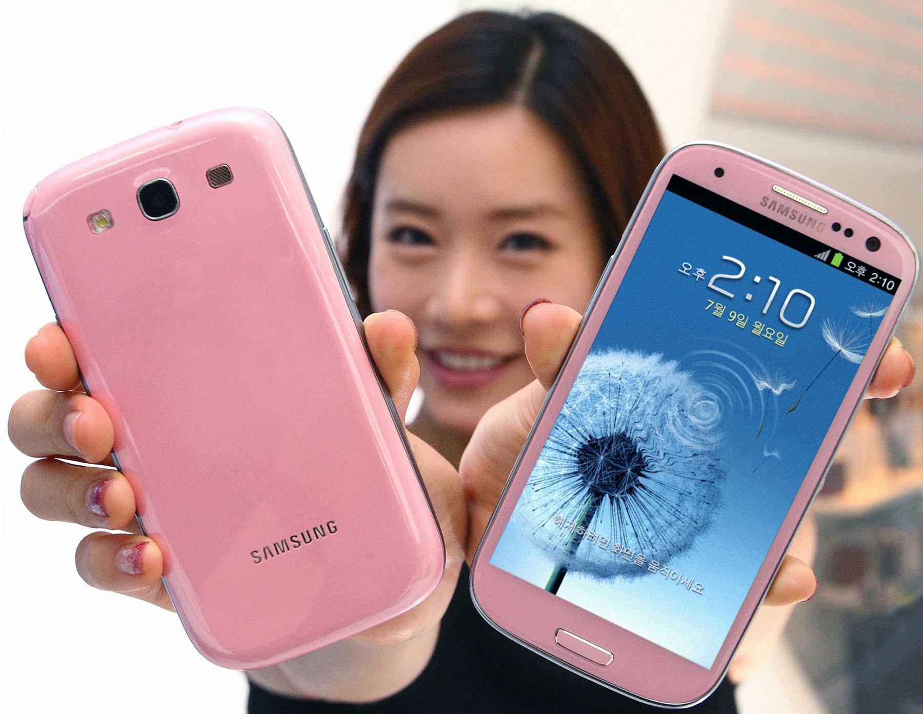 Galaxy S III Pinkモデル
