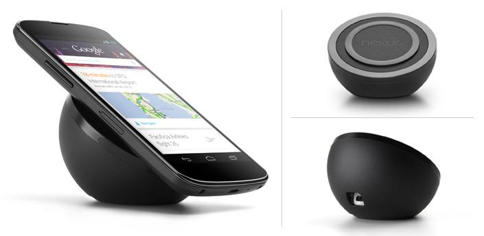 Nexus 4 ワイヤレスチャージ