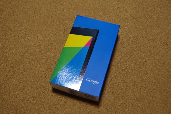 新型Nexus 7(2013年モデル)の開封レビュー