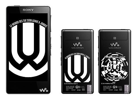 Android搭載ウォークマン「Fシリーズ」とロックバンドUVERworldの