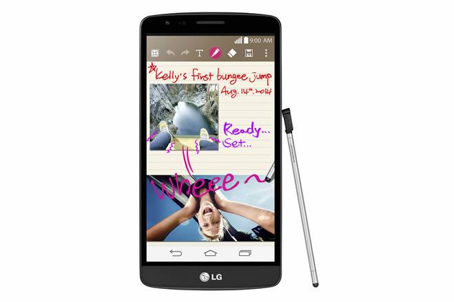 LG、スタイラスペン内蔵のAndroidスマートフォン「LG G3 Stylus」を海外で9月発売