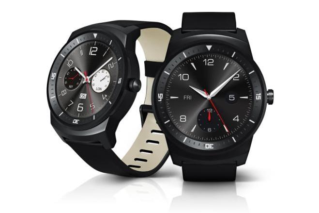 LG、丸型の有機ELディスプレイを搭載した腕時計型ウェアラブル端末「LG G Warch R」を発表予告、スペックも公開
