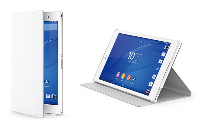 ソニー、Xperia Z3 Tablet Compact専用のスタンド付きカバーとスクリーンプロテクターを11月7日発売