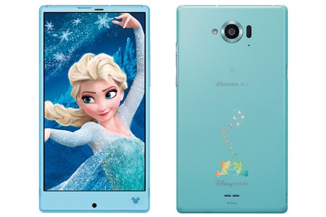 ドコモの「Disney Mobile on docomo SH-02G」に最新アップデート。VoLTE発信時の不具合が改善