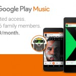Google Play Musicに月額14.99ドルで最大6人まで使える「ファミリープラン」が追加。まずは米国などで提供
